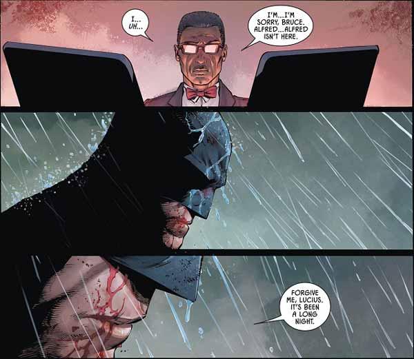 смерть Альфреда, Бэтмен #77,