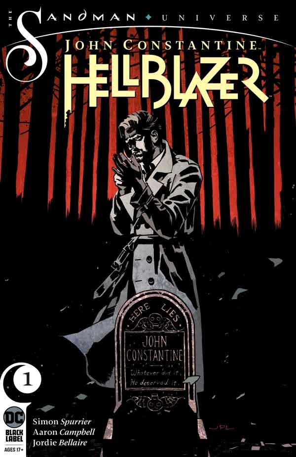 John Constantine - Hellblazer (2019) Vol 1 #1 Джон Константин: Посланник ада Том 1 #1 читать скачать комиксы онлайн