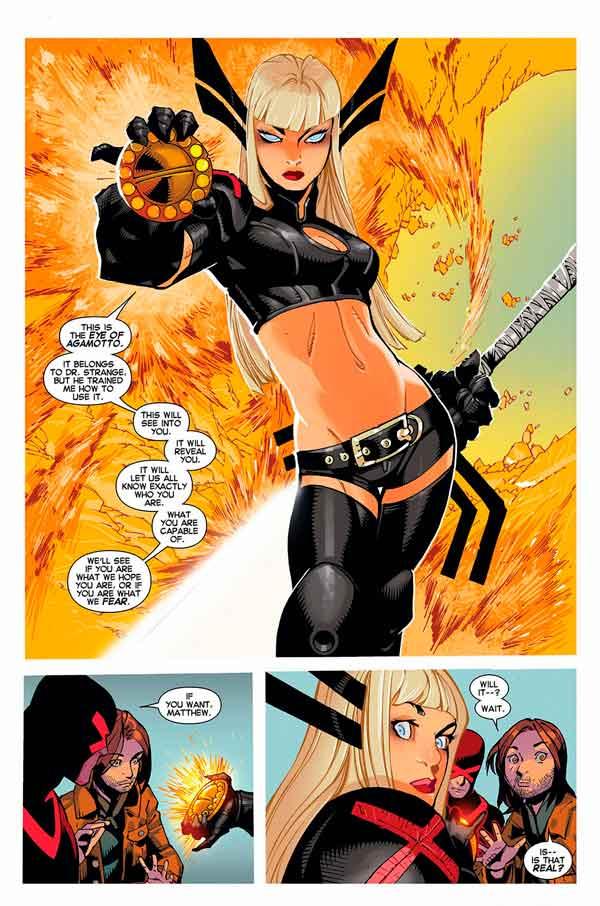 Ульяна Распутина биография персонажа, X-Men, Люди-Икс, Magik, Illyana Rasputina, Артефакт Око Агамотто