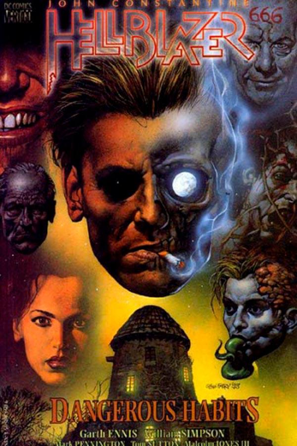 Опасные привычки #41-46 Hellblazer: Dangerous Habits #41-46, комиксы Джон Константин