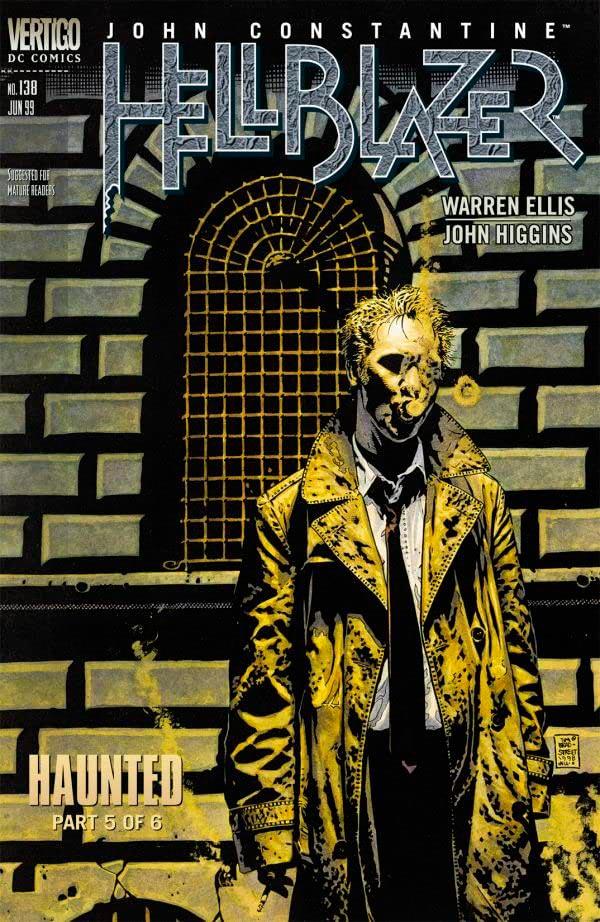 Haunted #134-139 Населенный призраками #134-139 комиксы Джон Константин